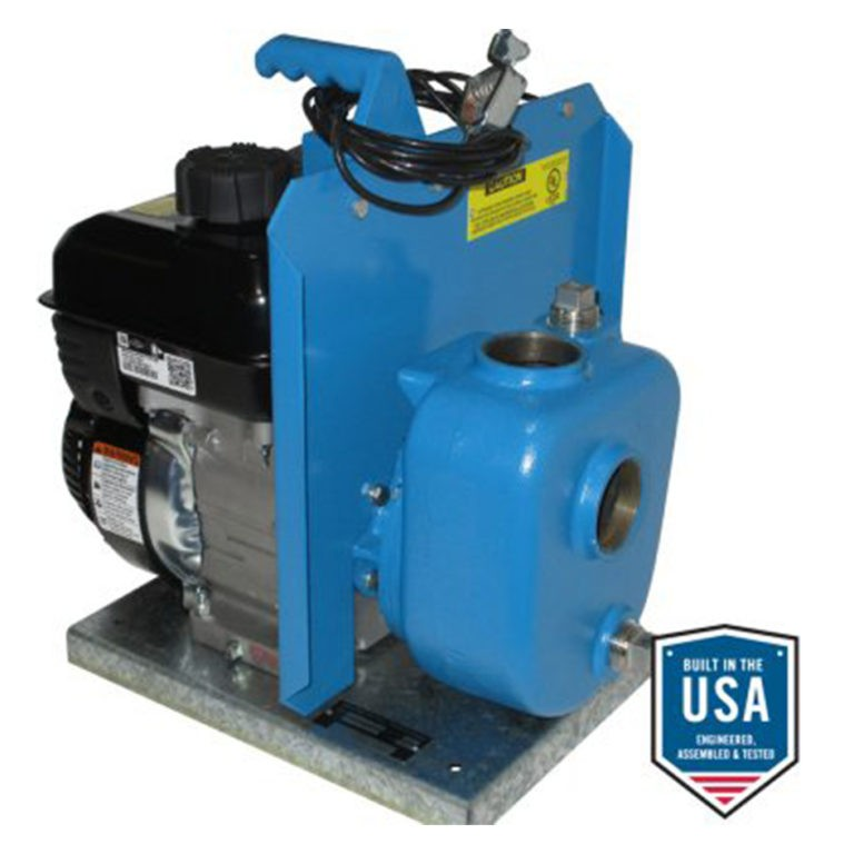2AM32-P Gasoline Engine Driven Self-Priming Petroleum Pump - Product Information Sheet