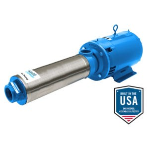 45HB-70HB High Pressure Centrifugal Booster Pumps - Product Information Sheet