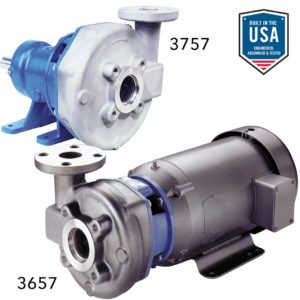 Goulds - 3657_3757 Stainless Steel Pumps- Product Information Sheet