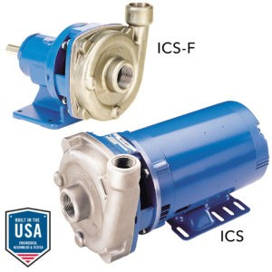 Goulds Pump - ICS & ICSF- Product Information Sheet
