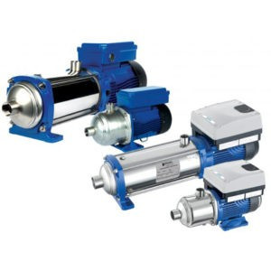 e-HM Multi-Stage Pumps - Product Information Sheet