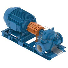 e-XC Single Stage, Double Suction Centrifugal Pumps
